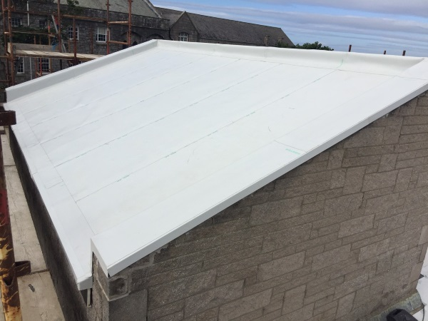 TPO Roof Membrane Job Completed